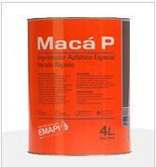 Imprimación asfáltica - Base Solvente: Maca P