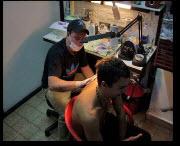 Insrtumentos para tatuado