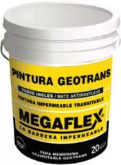 Pintura Geotrans  Revestimiento impermeable transitable para membranas geotrans