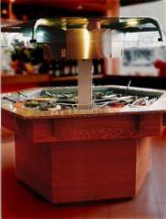 Salad Bar Hexagonal