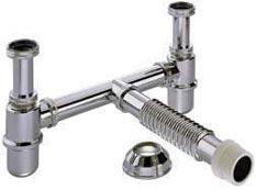 Siphons for water, water separators, metallic