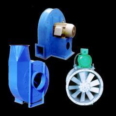 Ventiladores centrifugos y axiales