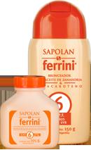 Bronceador Sapolán Con Aceite De Zanahoria S.P.F.6