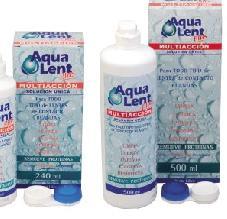 Solución para la limpieza de lentes AquaLent