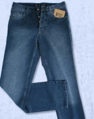 Jeans Clasicos, Lavado Localizado