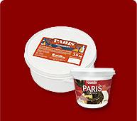 Ganache París Sabor Chocolate Amargo y Blanco