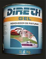 Removedor de pinturas Direth Gel