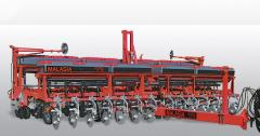 Sembradora autotrailer granos gruesos