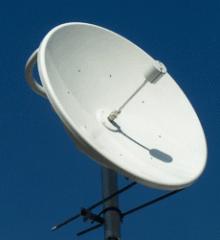Antennas for satellite television