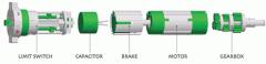 Motor tubular estandar línea TOR