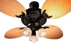 Ventilador de Techo Barcala Bali Negro