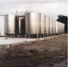 Tanques para fermentación