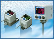 Presostato digital de alta precisión con indicador