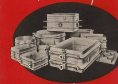 Boxes, boxes made of ferrous metals