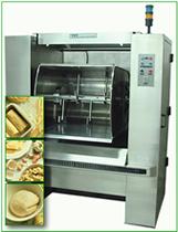 Commercial dough mixers