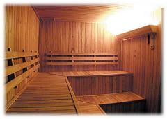 Baños, saunas y sus componentes