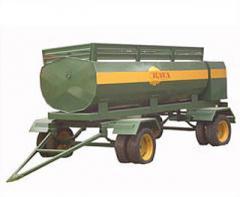 Semiremolques cisternas para transportar productos alimenticios