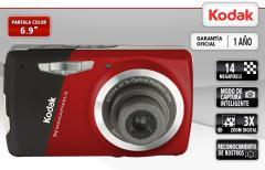 Cámara Digital Kodak Easyshare M531 Rojo