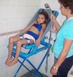 Miejsce siedzące dla kąpieli dla osób
