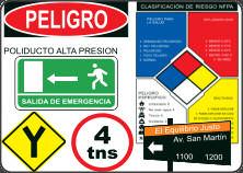 Signos de peligro