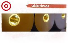 Aisladores soporte de barras para uso interior