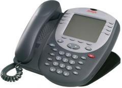 Teléfonos digitales de Avaya