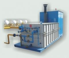 Surface type vaporizers for steam-turbine power