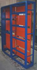 Telecommunication boxes, supports