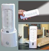Linterna a LEDs Recargable