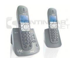 Inalambrico 2 teléfonos c/contestador ph