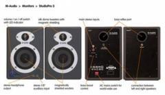Monitor Estudio M-Audio Studio Pro 3