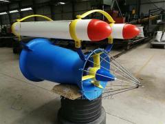 Floating KINETIC hydroturbines