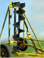 Hoyadora con Regulación de Altura Hidráulica