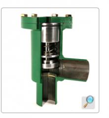 Pilot-operated check valve (check controlled