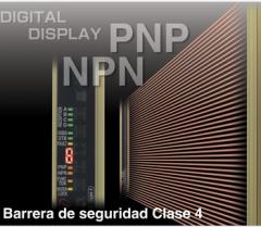 Barrera de seguridad 10-30 VDC, NPN o PNP