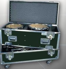Caja para tambores y fierros de bateria