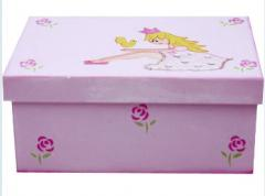 Caja Decorada con Princesa