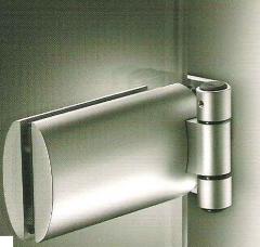 Bisagra para puertas de cristal modelo Forma