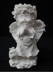 Angel con ovejita