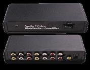 Distribuidor Audio y Video 1 a 4