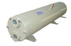 Condensador por Agua Casco y Tubos para Compresor