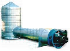 Sistemas de aireación para silos
