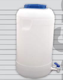 Bidon 25 Litros con Canilla Retornable