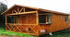 Casas de paneles de madera