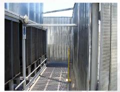 Panel acústico  para torre de enfriamiento