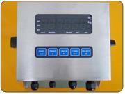 Indicador electrónico con gabinete de acero