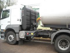 Tanque Mochila de 950 litros con soporte