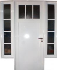 Puerta con 3 cristales