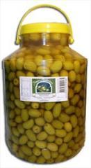 Aceitunas verdes con carozo