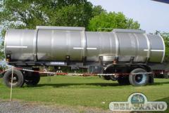Acoplado tanque inoxidable